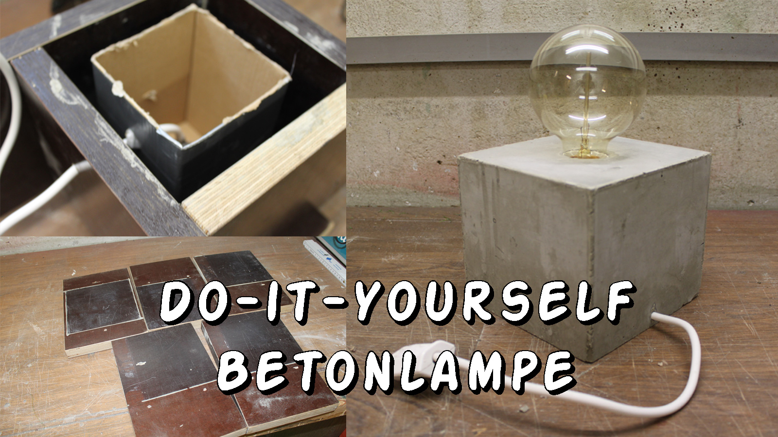 Do it yourself betonlampe daytrippers for Wohnzimmertisch do it yourself
